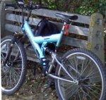 Razorback dual suspension bike